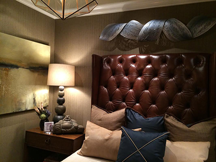 Orvieto At The Designer Showhouse On Loan Through Chicago Art Source Gallery IL Interior Credit Designers Of Gracious House